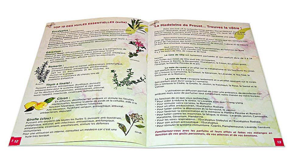 """Livre """"Aromathérapie, l' Essentiel et ses Recettes Faciles"""" d'Anne Ducoms-Picard, page 12"""