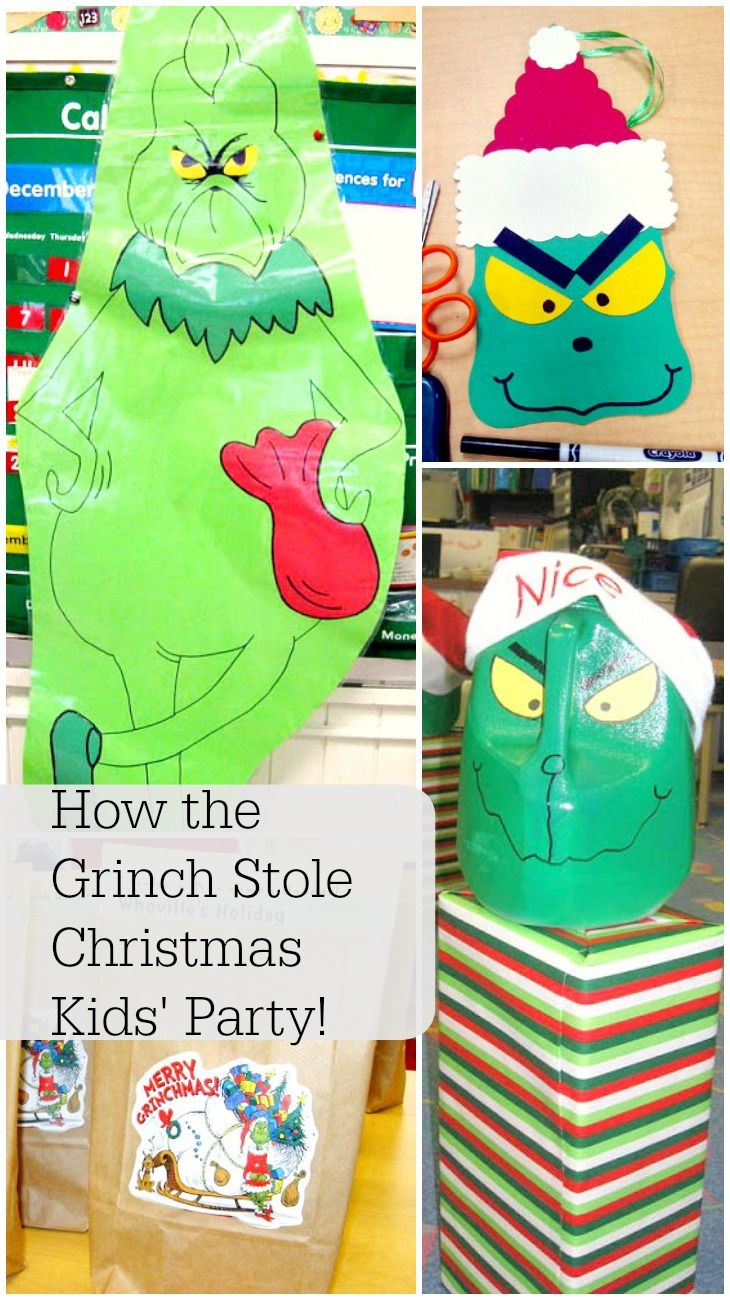 How The Grinch Stole Christmas Party Ideas Part - 27: How The Grinch Stole Christmas Kidsu0027 Party- Filled With Ideas For Games,  Food