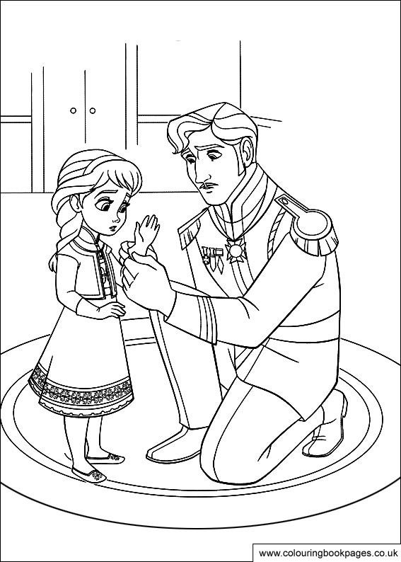 Frozen Coloring Pages Disney Picture 4