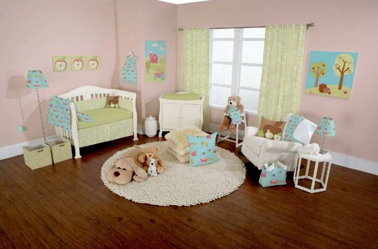Décoration chambre bébé fille 99 idées, photos et astuces