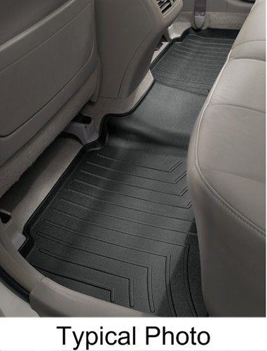 Weathertech 2nd Row Rear Auto Floor Mat Black Car Floor Mats