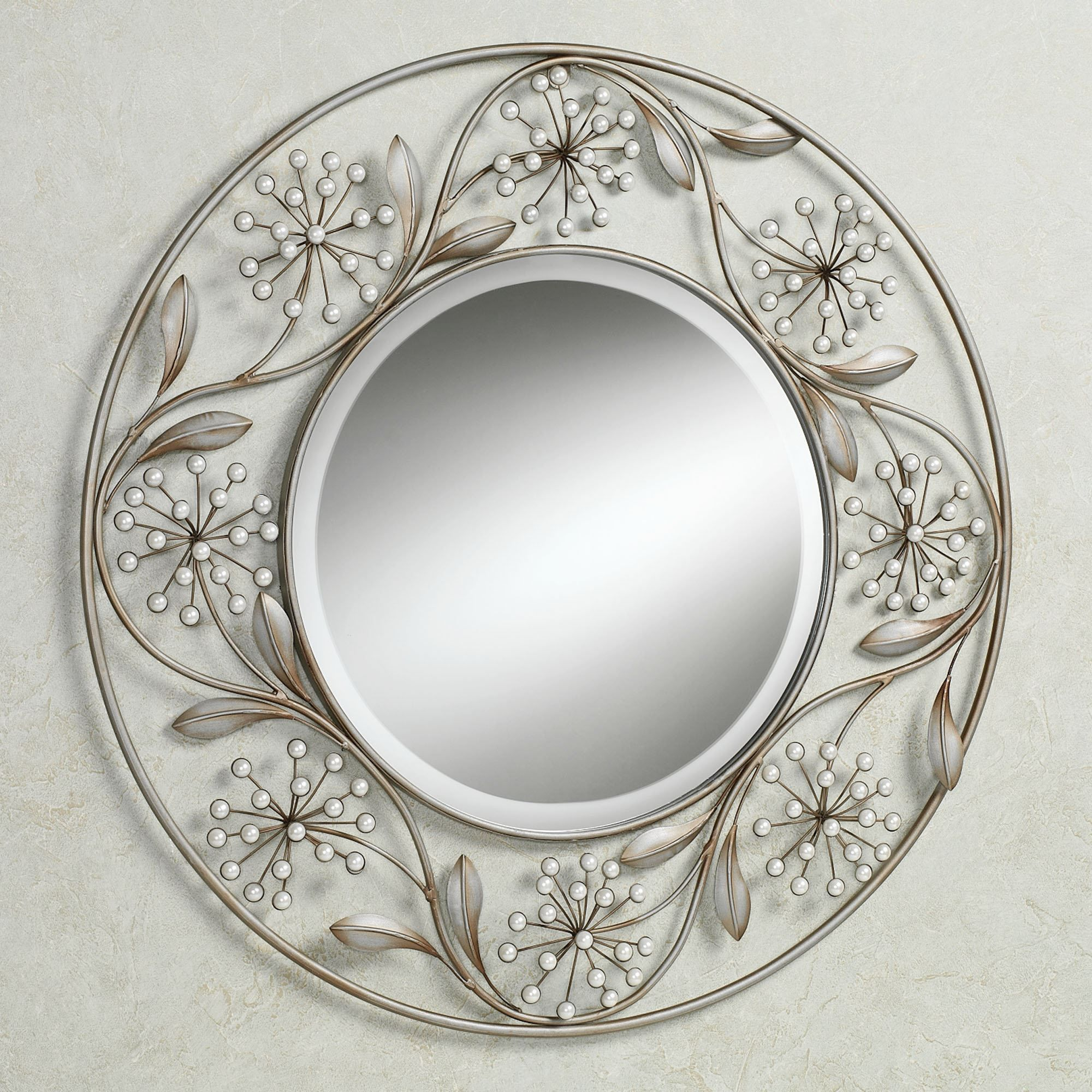 decor online decorative coastal with mirrors chic mirror