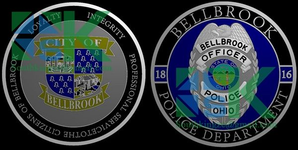 A lot of gift ideas  Coin ideas : This is a police challenge coin we