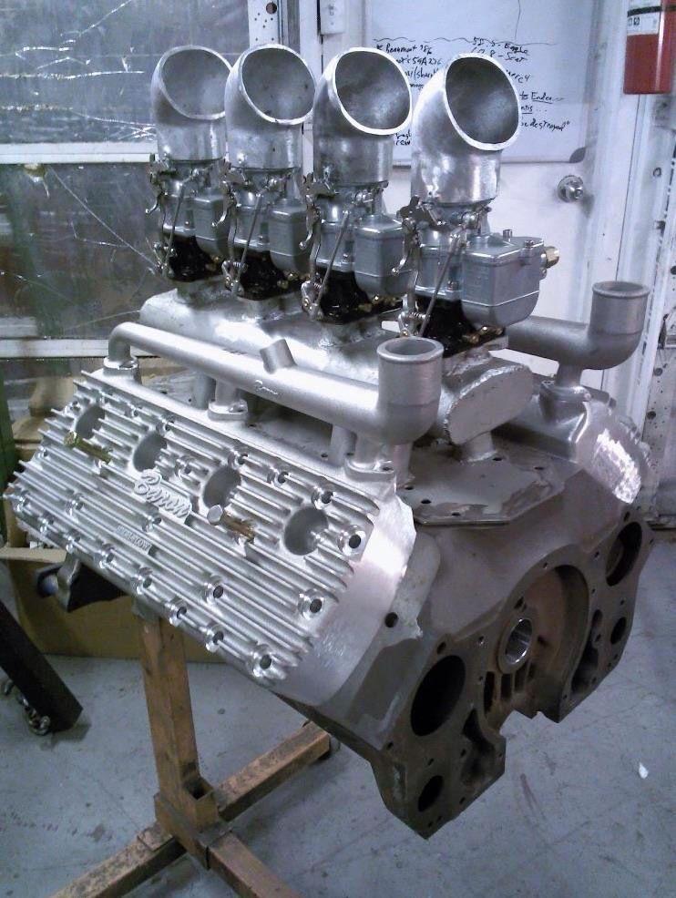Flathead with fabricated intake manifold | Powerplants