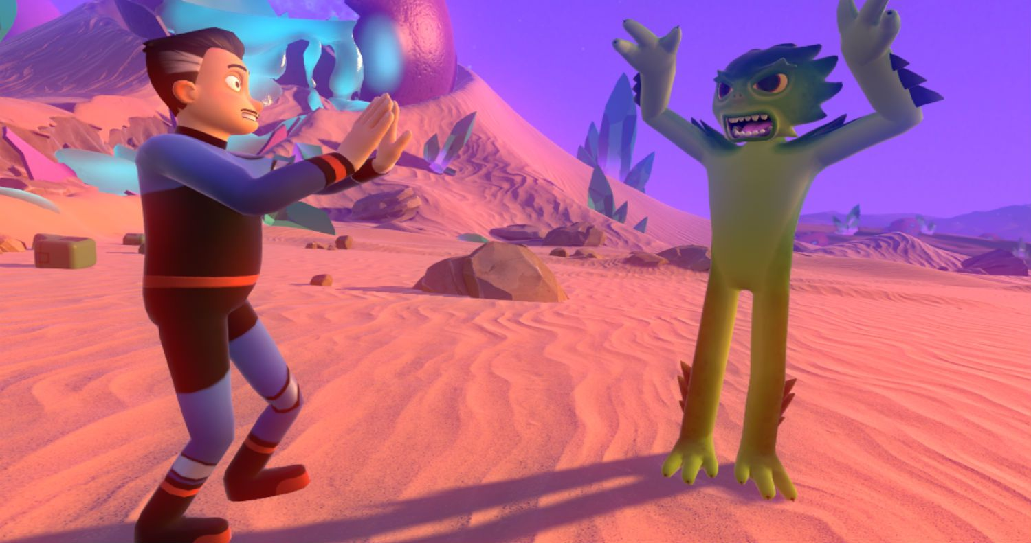 'Mindshow' from Visionary VR is an impressive creation tool that just debuted at VRLA and we went hands-on with the character aninmation software.