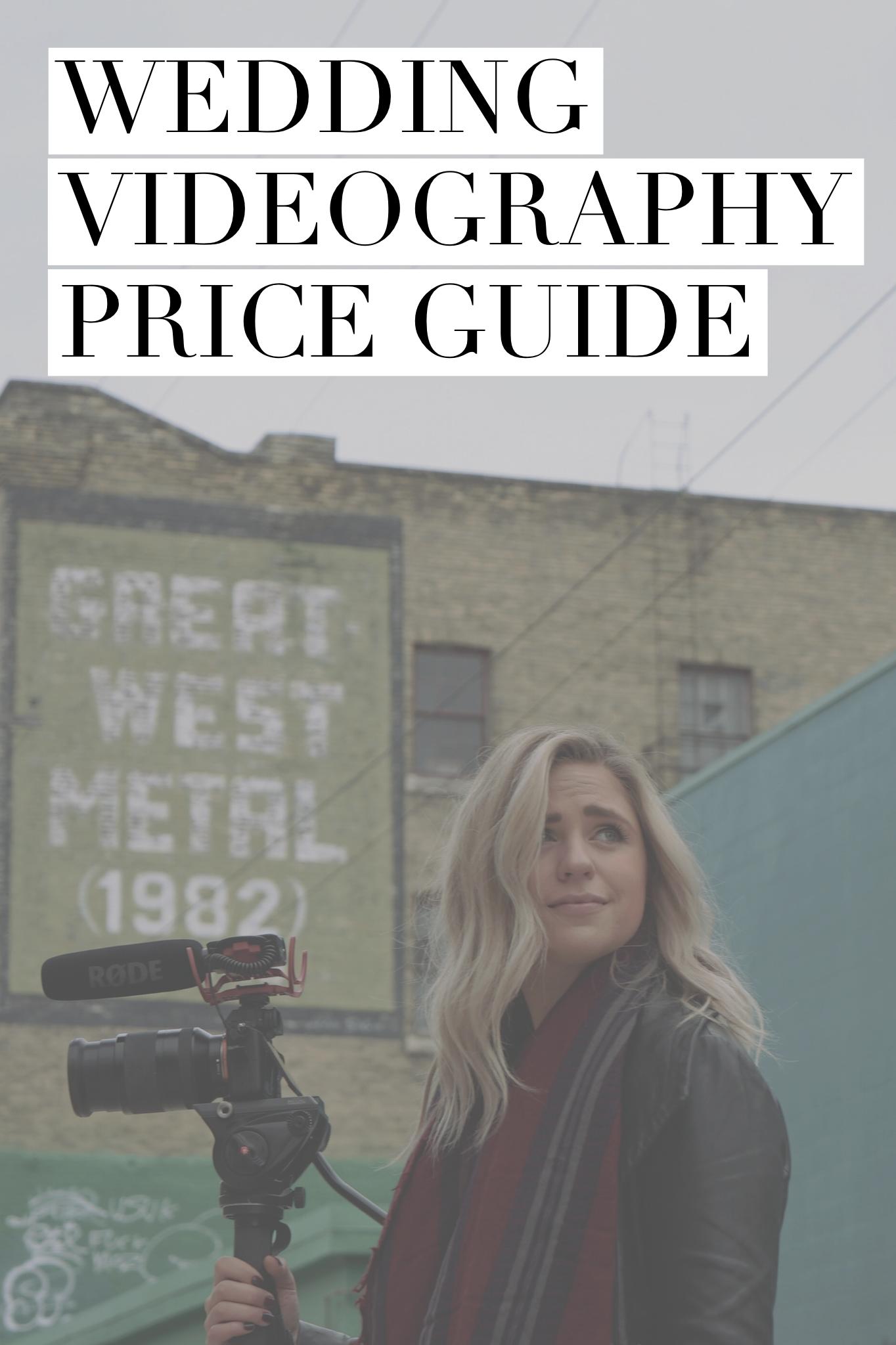 Wedding Videographer Pricing Guide — Prairie Film Co