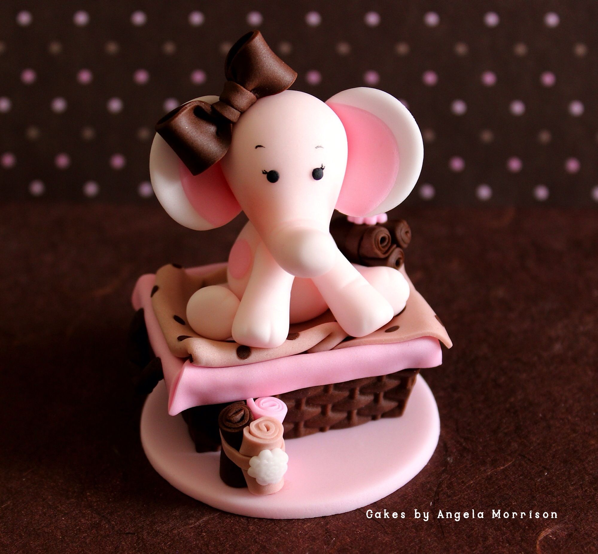 Animal babyshower tutorial-cakes by Angela Morrison