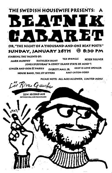 Art Chantry, Beatnik Cabaret