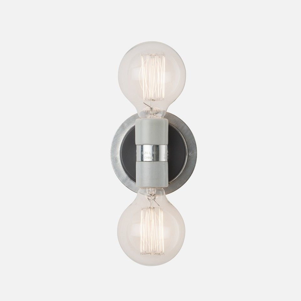 u 2 sconce wall sconces industrial and walls