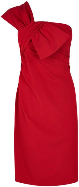 Women\'s Red Ainslee Bow Dress