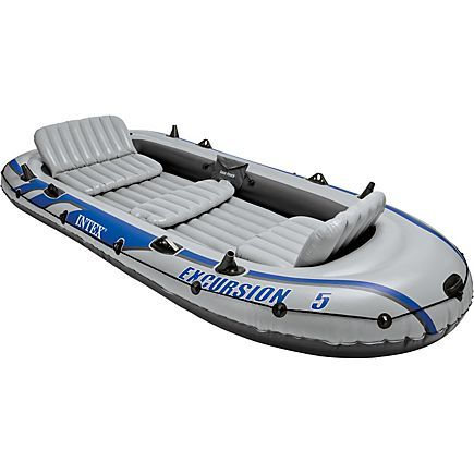 INTEX Excursion 5 12 ft Boat Academy Inflatable rafts