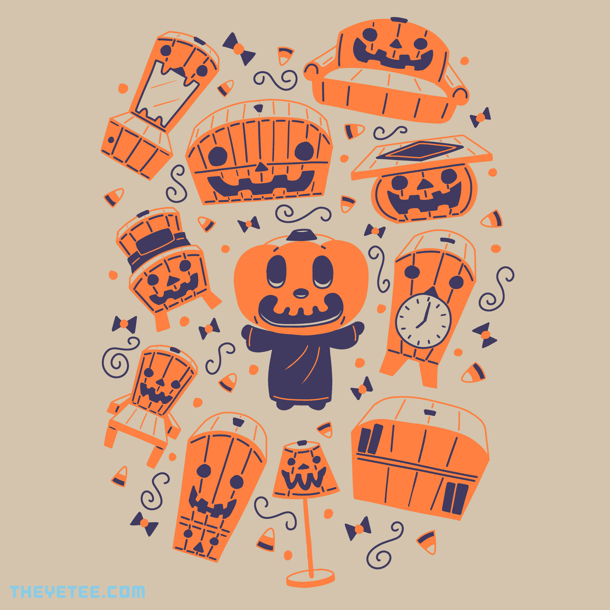 Candy Crossing By Travis Pixels, today at The Yetee