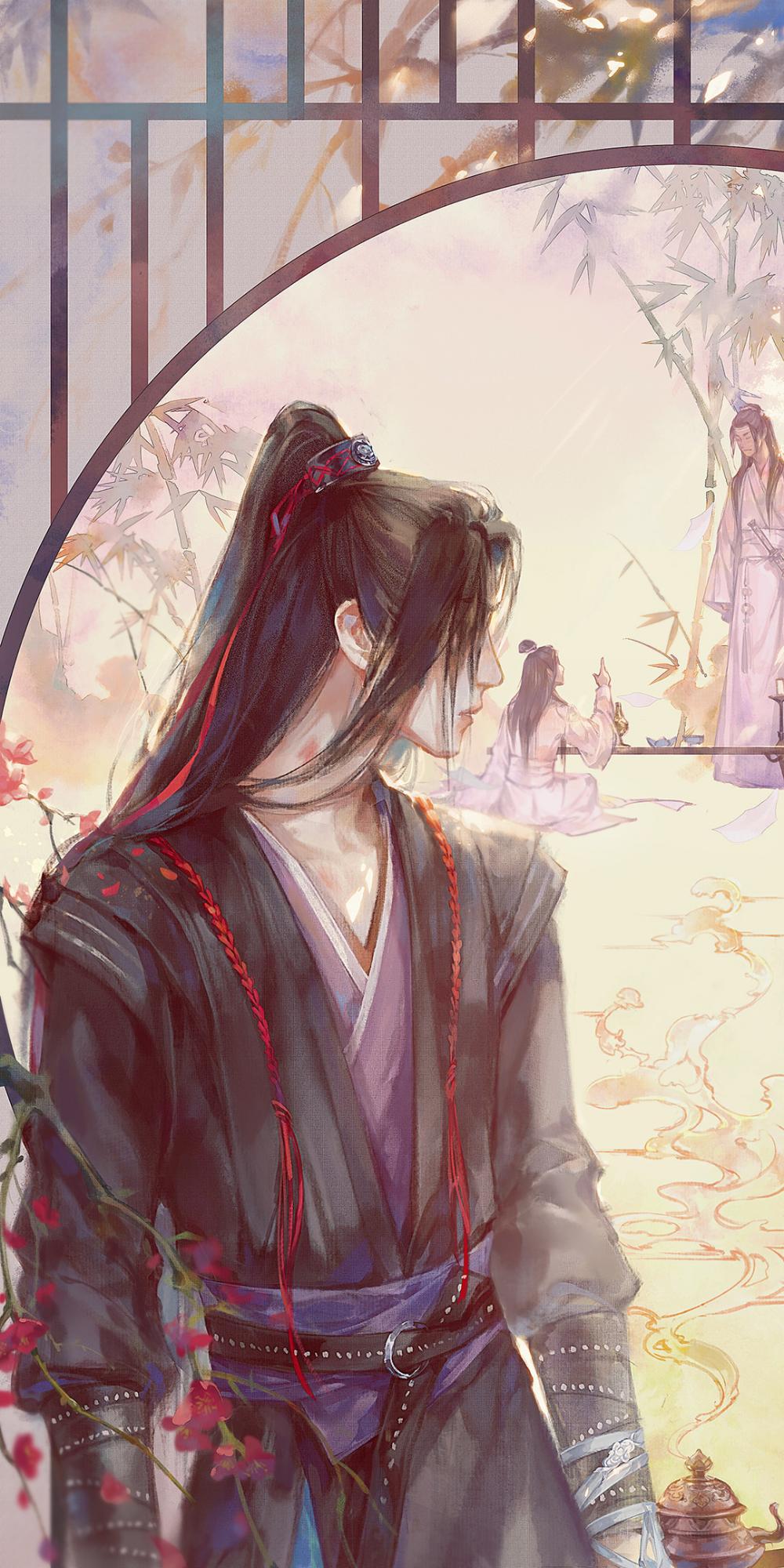 Wei Wuxian by 梦锦 (lofter mengjin958) Untamed, Anime art