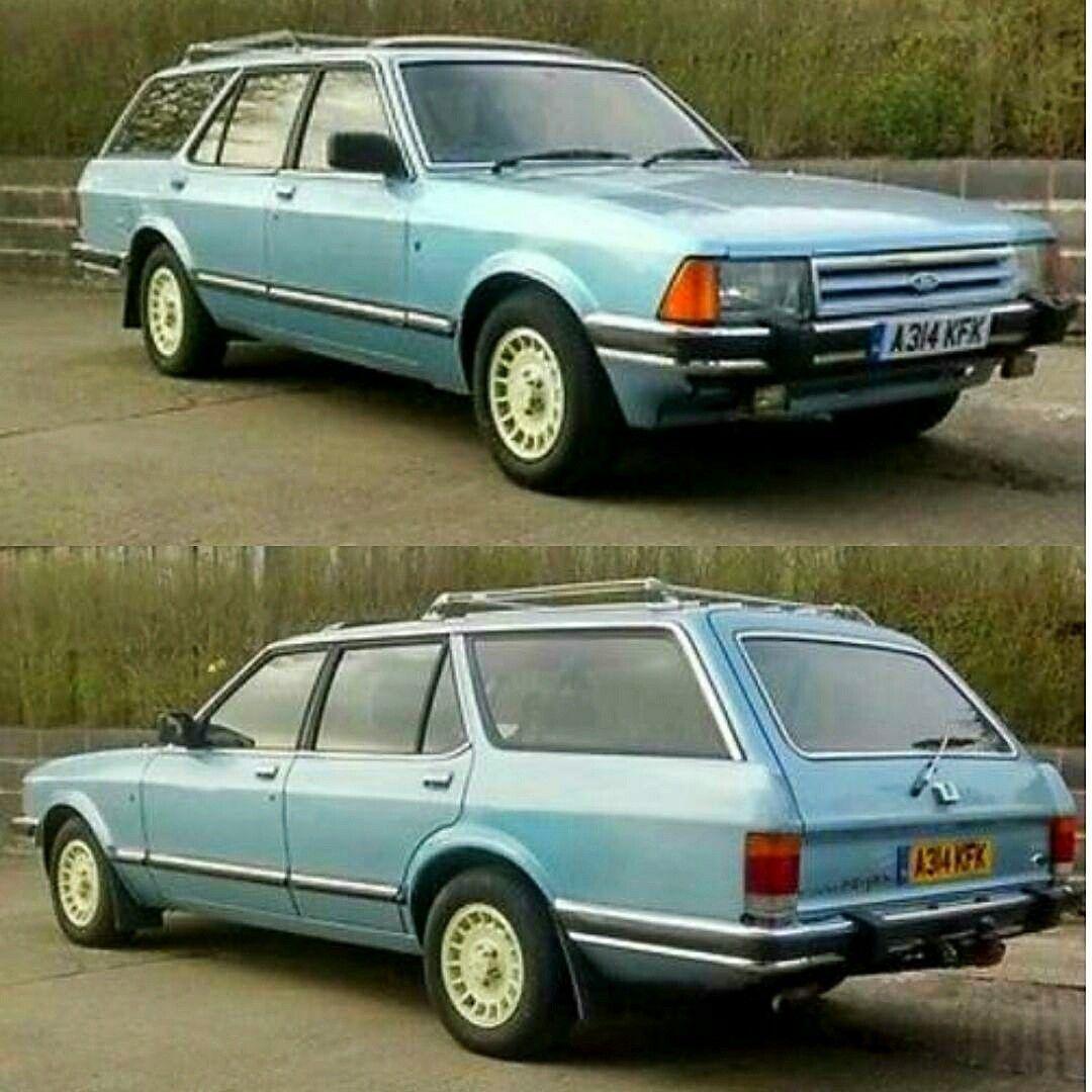 1983 Ford Granada 2 8 Ghia Estate Fahrzeuge Tourer Ford