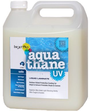 Satin 4 0l Inkjetpro Aquathane Uv Tough Durable Liquid Laminate