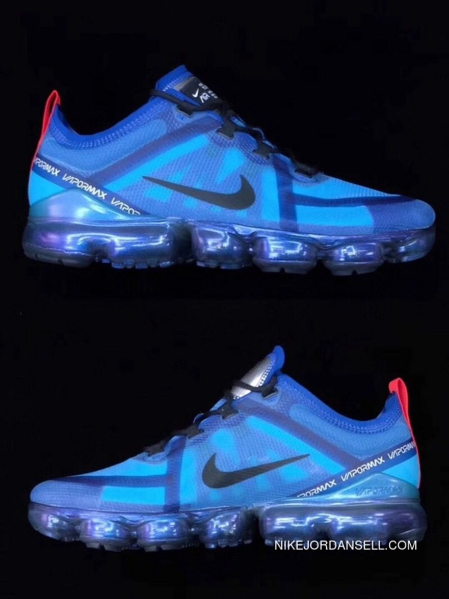 abd3909275 Nike Air VaporMax 2019 Nike Air VaporMax 2019 Blue Sneaker Men AR6631-400  Online