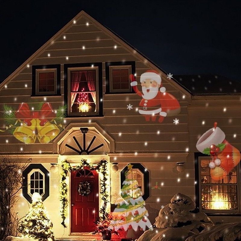 Merry Christmas Lights Outdoor Led Snowflake Best For Home
