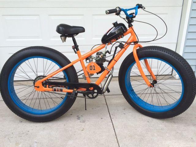 General Lee Fat Tire Bike Motorized On Ebay Just Enter