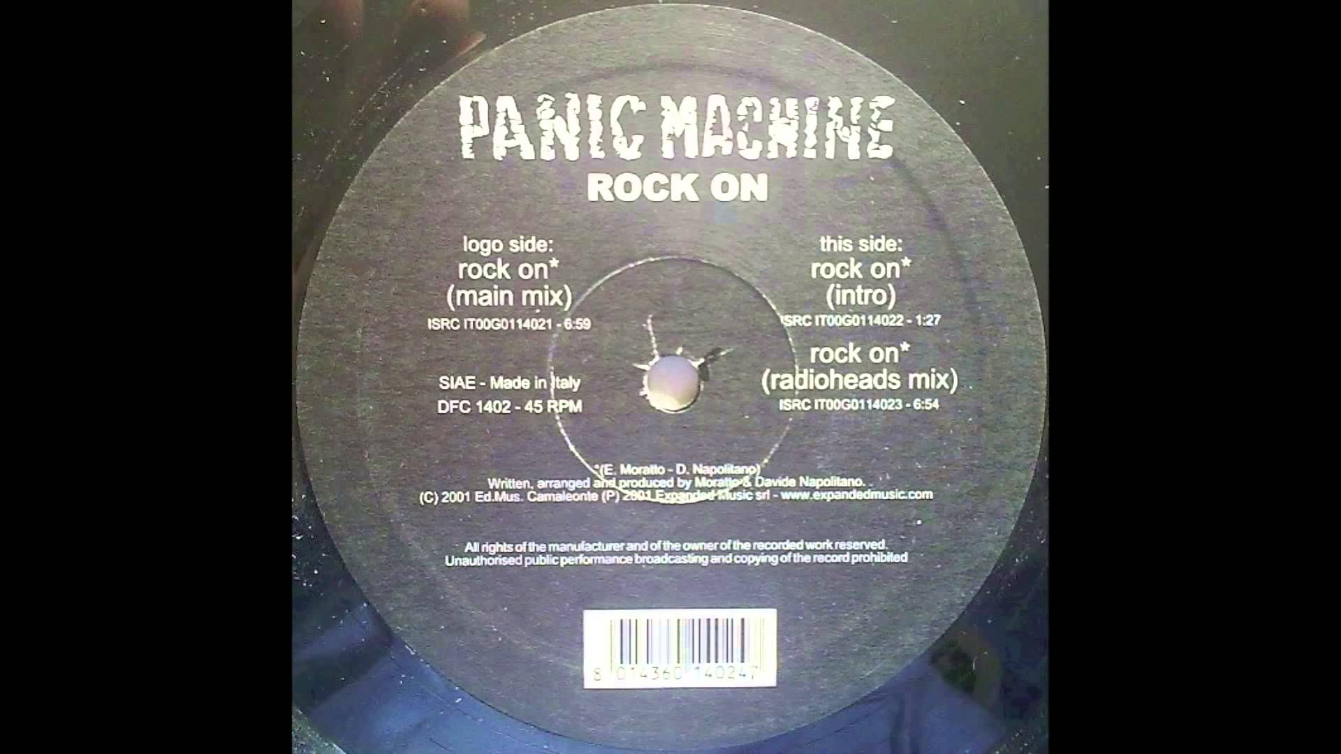 Panic Machine Rock On Radioheads Mix Discoteca Pista Da Ballo