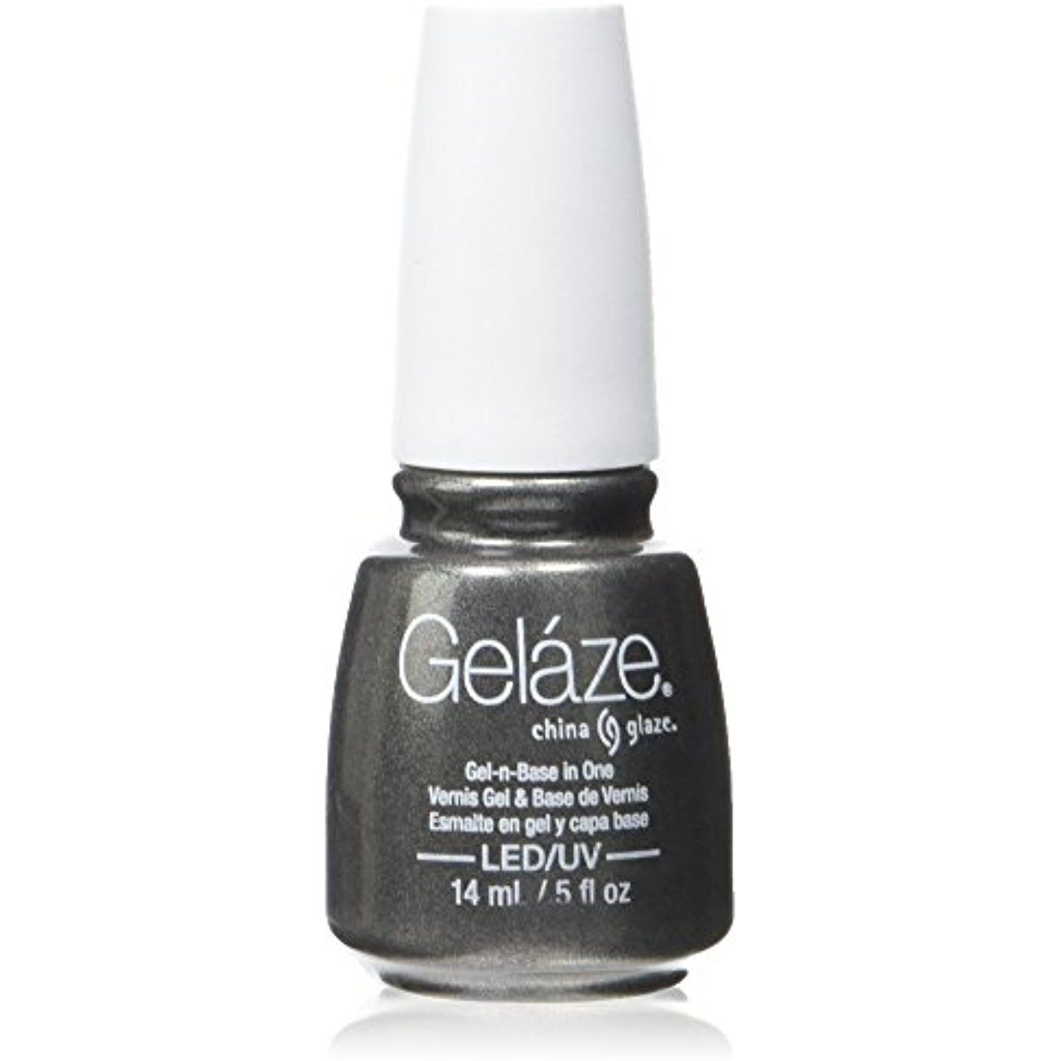 Gelaze Black Diamond Gel-N-Base Polish, 0.5 Fluid Ounce *** Read ...