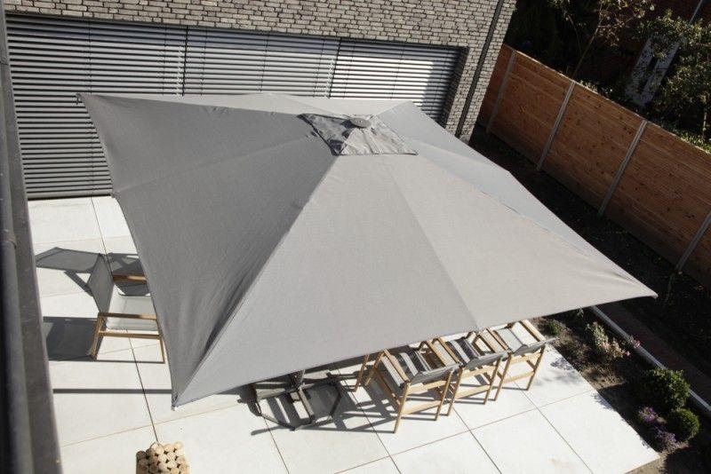 Sonnenschirm Von Queens Garten Grau Beige Mobel Mit Www Moebelmit De Sonnenschirm Schirm Mobel