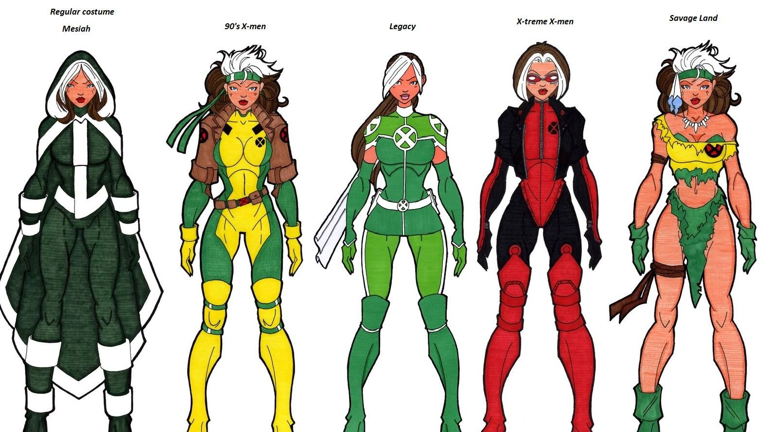 X men rogue outfits google search comic book loves pinterest x men rogue outfits google search solutioingenieria Gallery