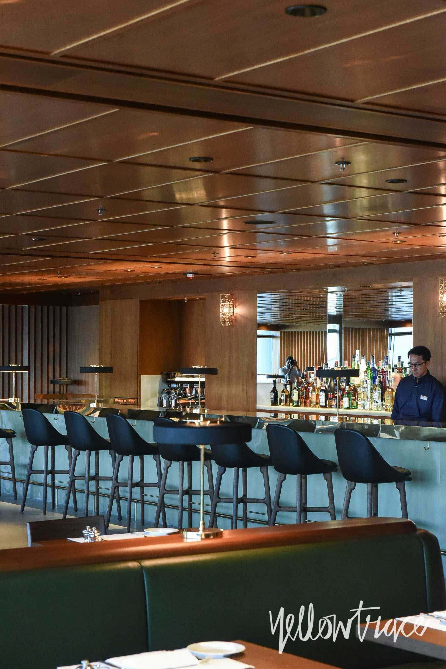 Cathay Pacific\'s The Pier First Class Lounge in Hong Kong. | Airport ...