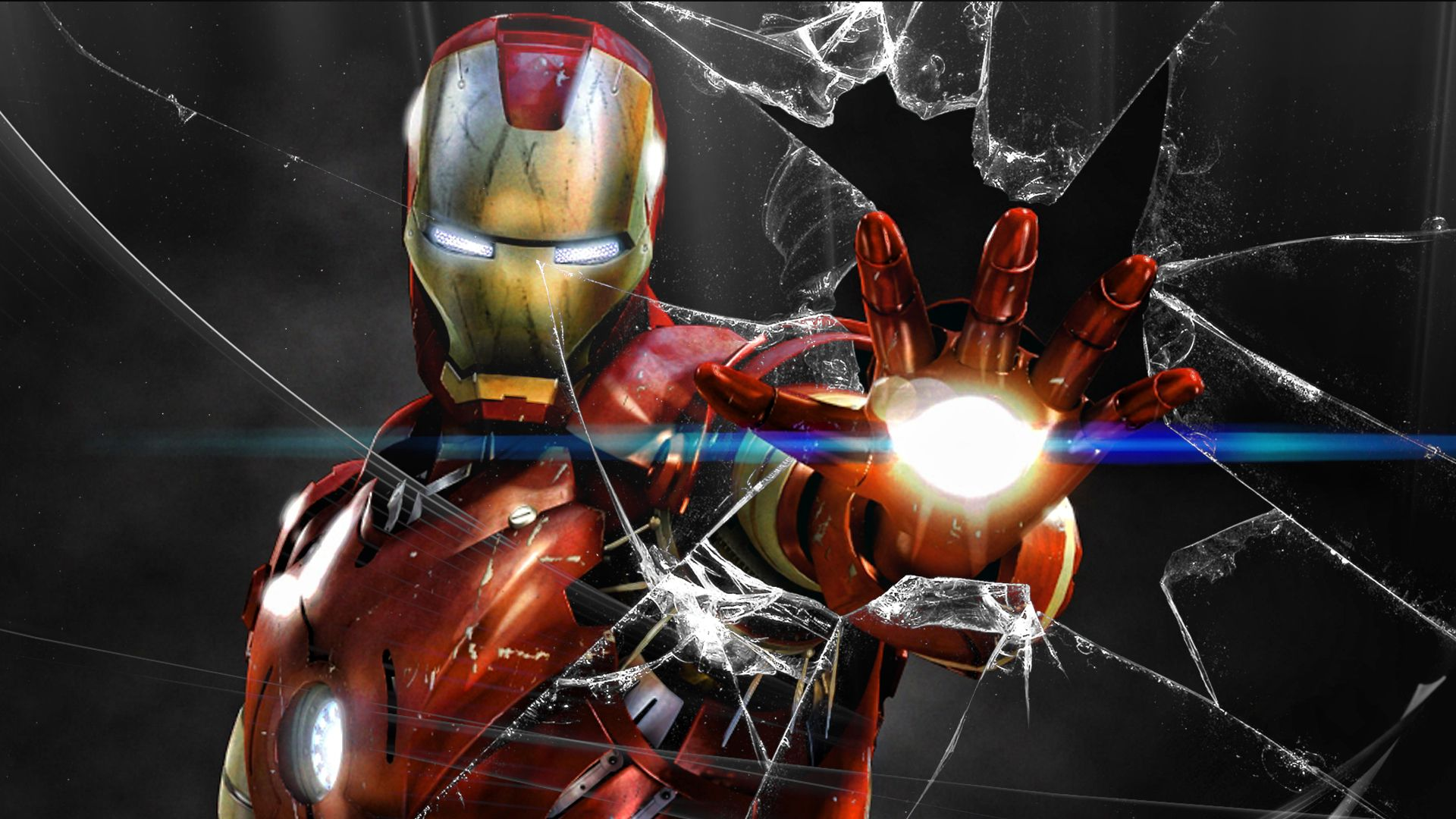 35 Iron Man Hd Wallpapers For Desktop: Captain America Vs Iron Man HD Desktop Wallpaper