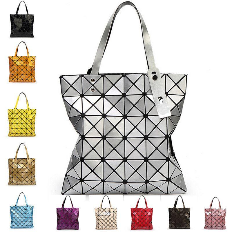 754b3907fc With Logo Baobao Women Bag Phone Bag Case Popular Handbag Shopping Shoulder  Geometric Folding Package bolsa feminina Bao Bao Bag-in Shoulder Bags from  ...