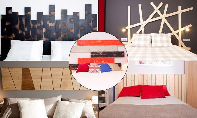 Ideas para cabecero con tableros de madera | D cabeceros | Pinterest ...