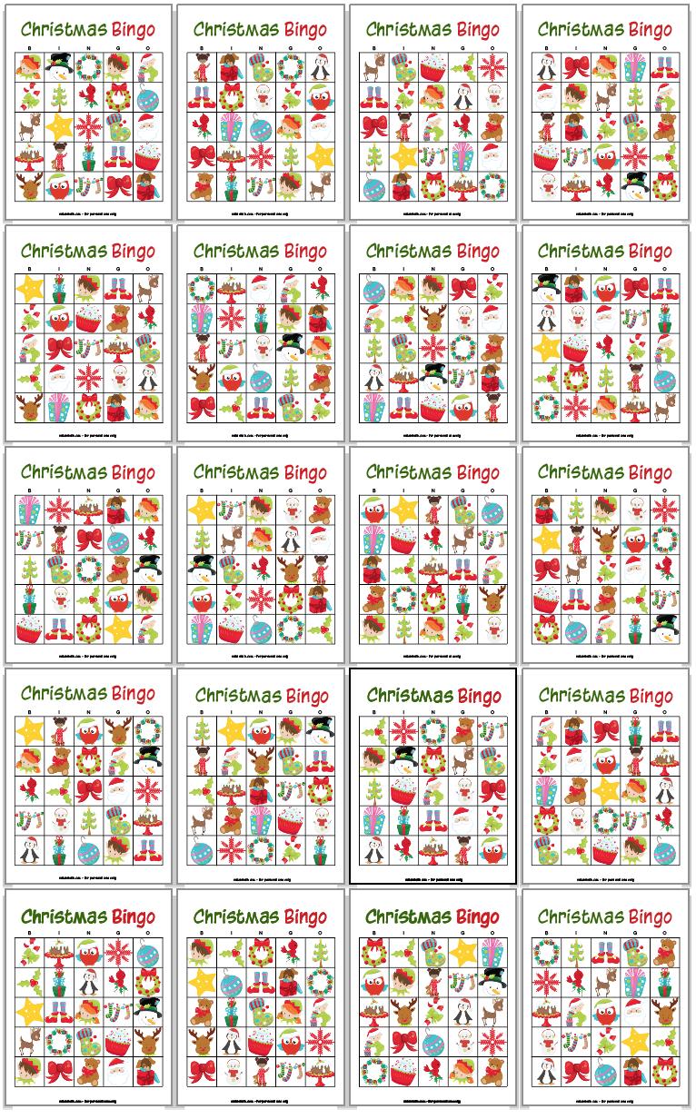 34 Printable Christmas Bingo Cards Christmas Bingo Cards Printable Christmas Bingo Cards Christmas Bingo Printable