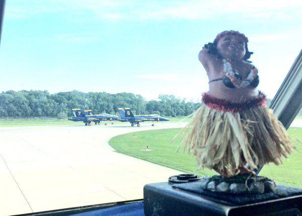 My BFF, Hula Girl, danced for the Solo Mafia before departing from the @SpiritAirshow _ Fat Albert (@fatalbertusmc) | Twitter