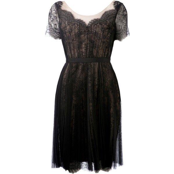MARCHESA NOTTE lace dress
