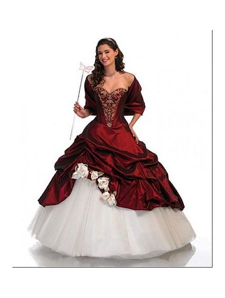 Red Victorian Wedding Dresses Gothic wedding dresses | Black ...