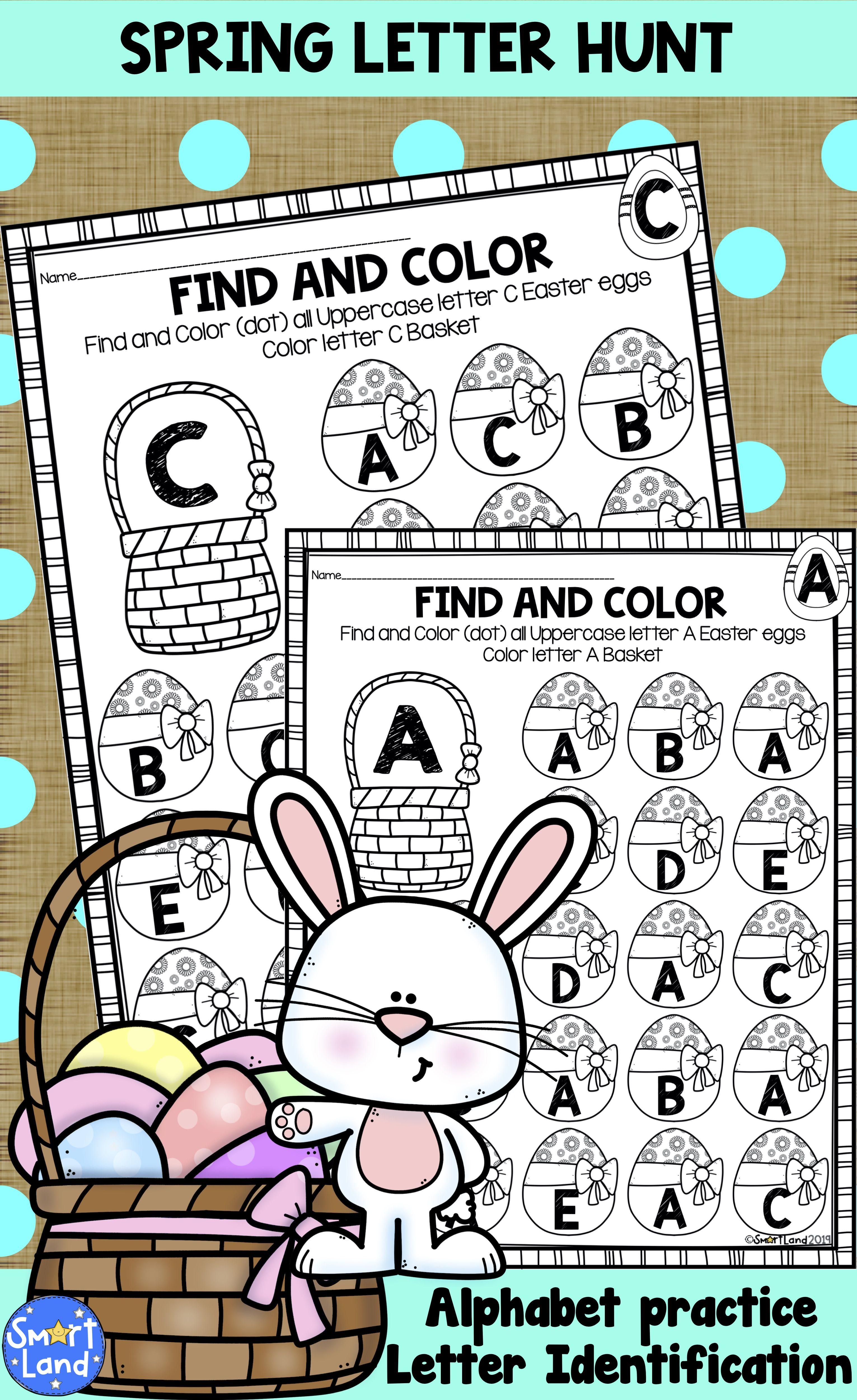 Alphabet Practice Letter Search Eastereggs