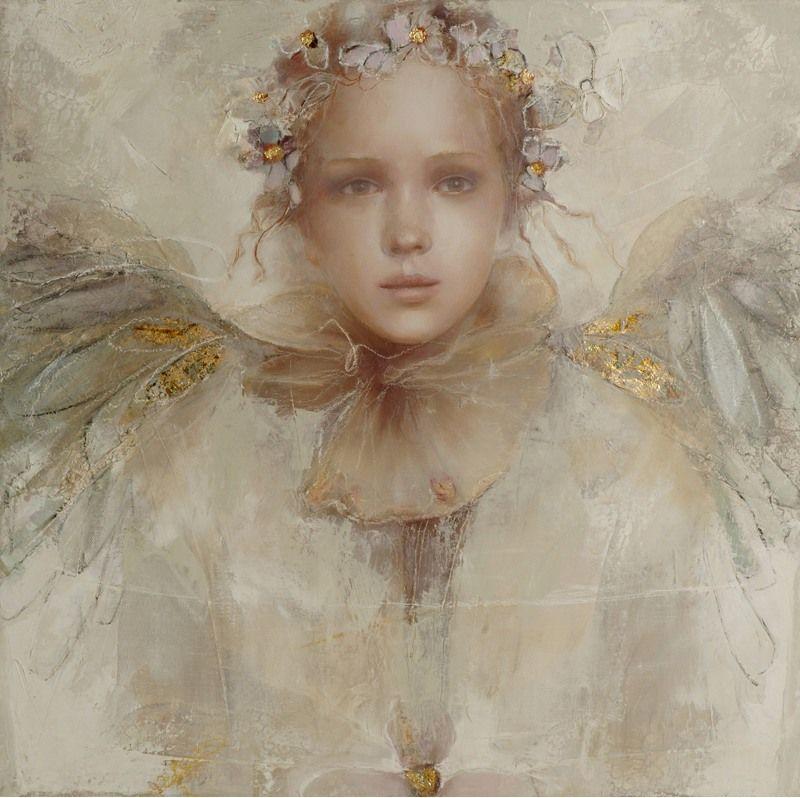 Elvira Amrhein does wonderful angels.