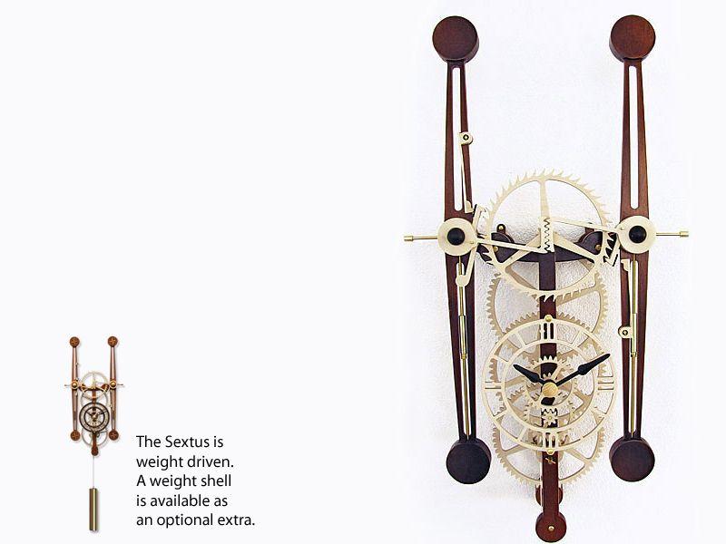 Sextus My Tribute To John Harrison In 2019 Wooden Clock Kits Wooden Clock Wall Clock Kits