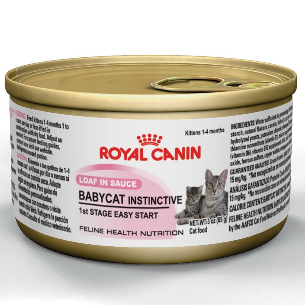 Royal Canin Feline Health Nutrition Babycat Instinctive Kitten Food Kitten Food Canned Cat Food Animal Nutrition