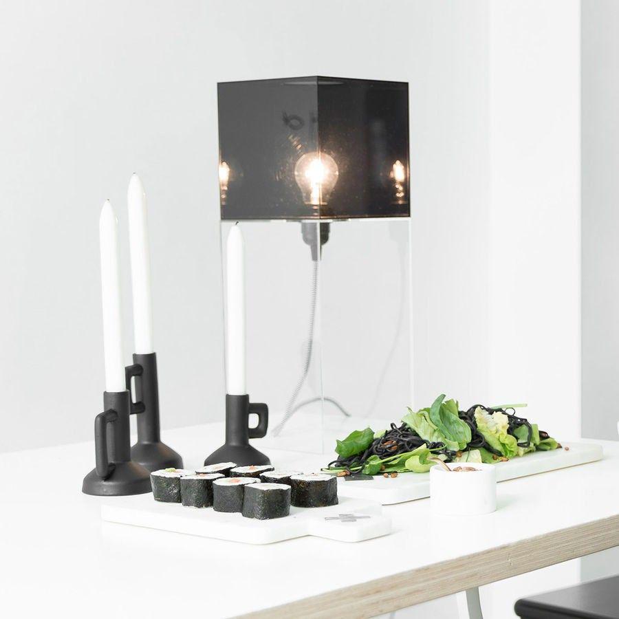 Hk Living Tischleuchte Plexi L 48cm Schoner Wohnen Shop Plexi Die Geometrisch Geformten Lampen Aus Plexi Glas Designer Tischleuchten Wohnen Tischleuchte