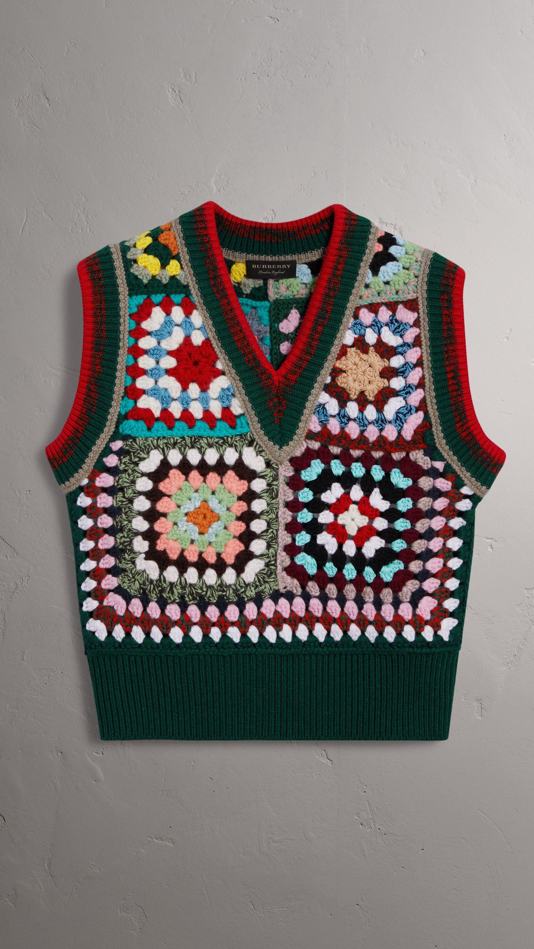 Abbigliamento Donna Burberry Crochet Pinterest Pullunder