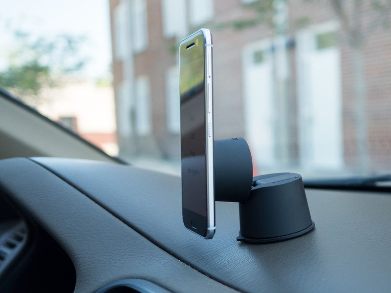 Logitech's ZeroTouch is now the best, most expensive Android Auto car mount you can buy   Android Central
