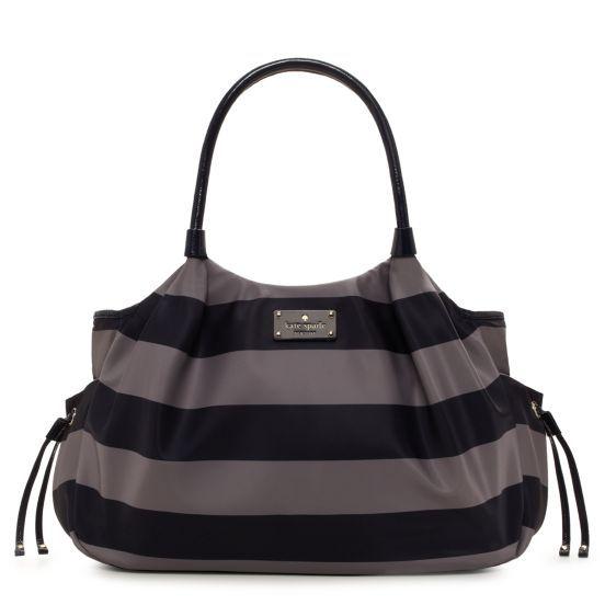 2e3cf228c942 Kate Spade Cambridge Stripe Stevie Baby Bag   What I would wear ...