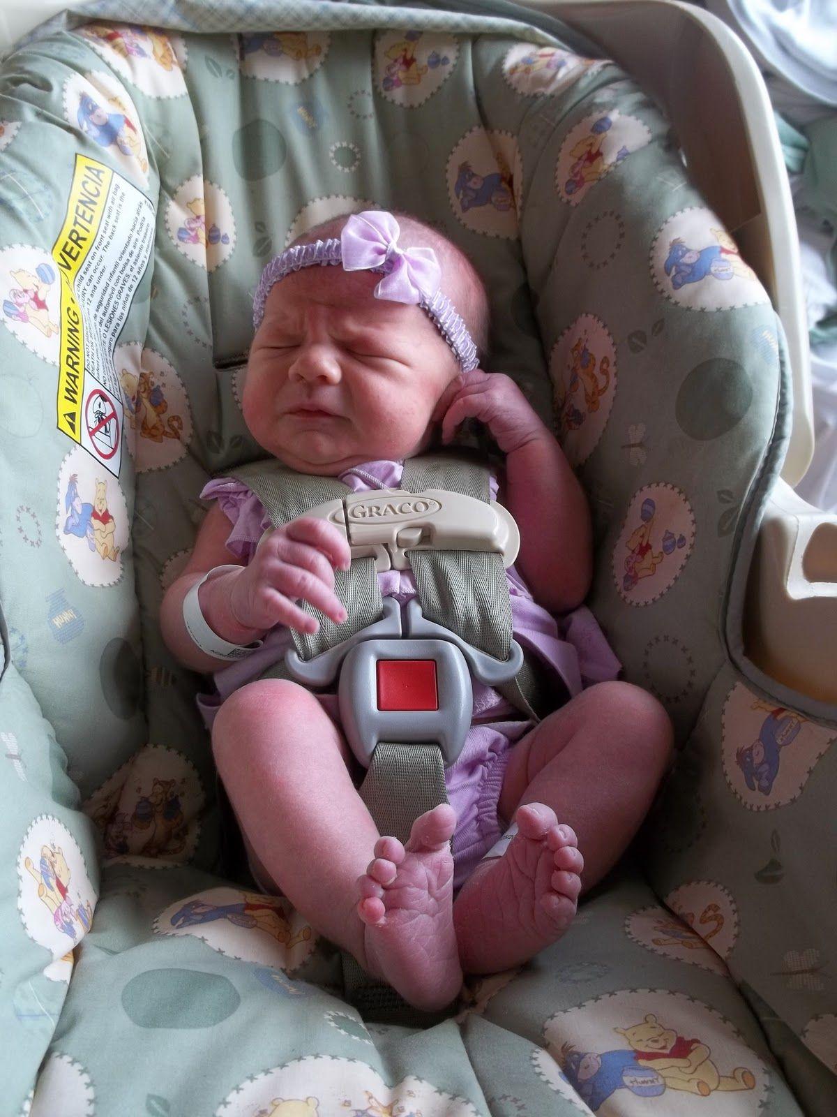 Newborn baby girl in car seat google search