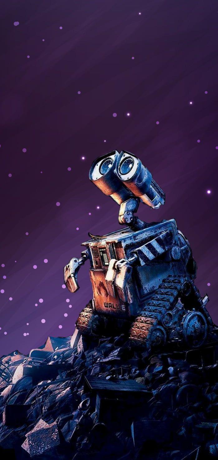 Wall-E Galaxy Stars