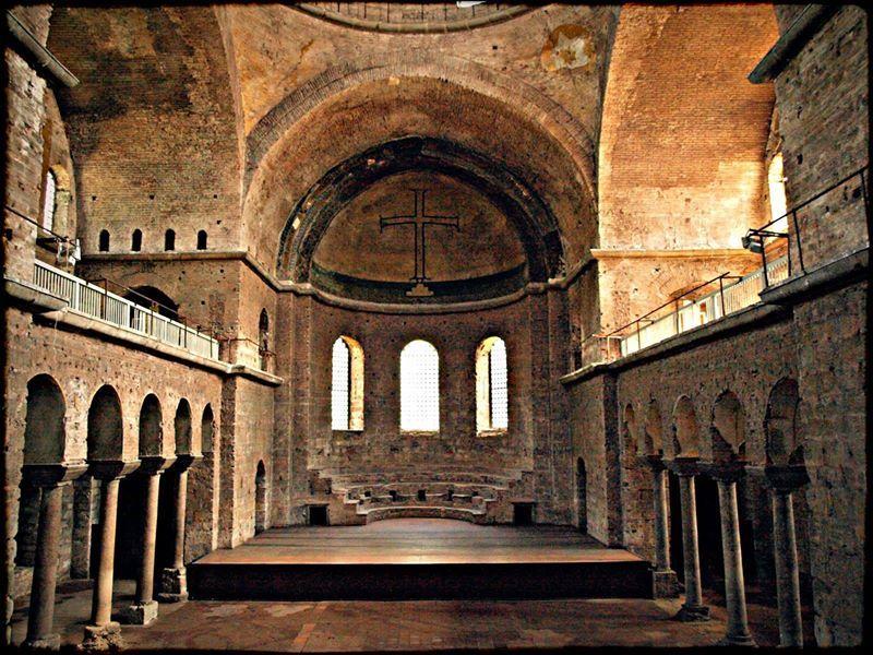 Interior Hagia Irene Istanbul With Images Byzantine