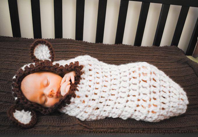 Crochet Baby Cocoon Patterns Free | Daisies Crochet: Crochet Baby ...