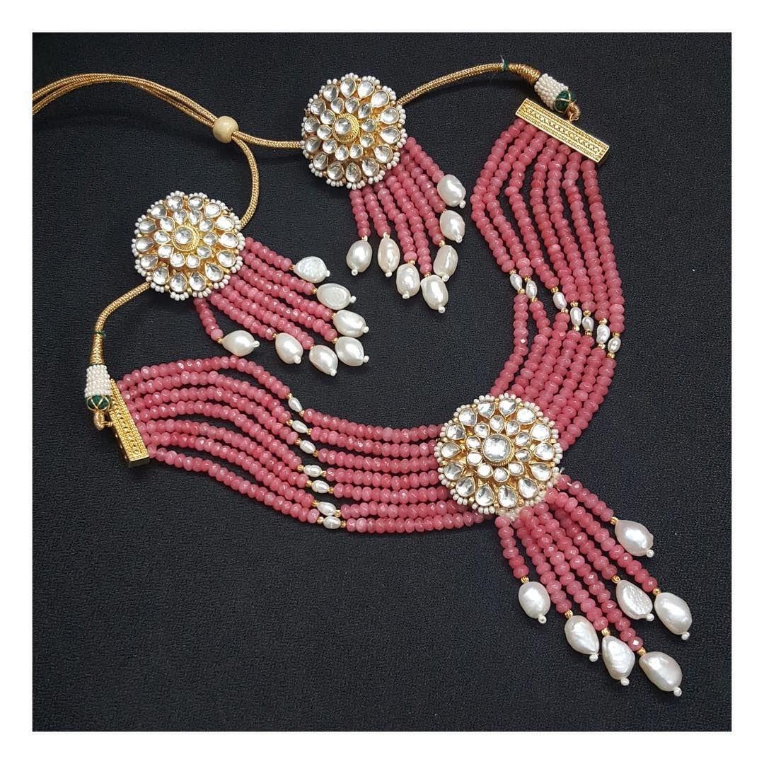 Pearl jewellery #jewelleryforsale #jewellerybyavnigujral #contemporaryjewellery #semipreciousjewellery #bracelets #multicolouredjewellery