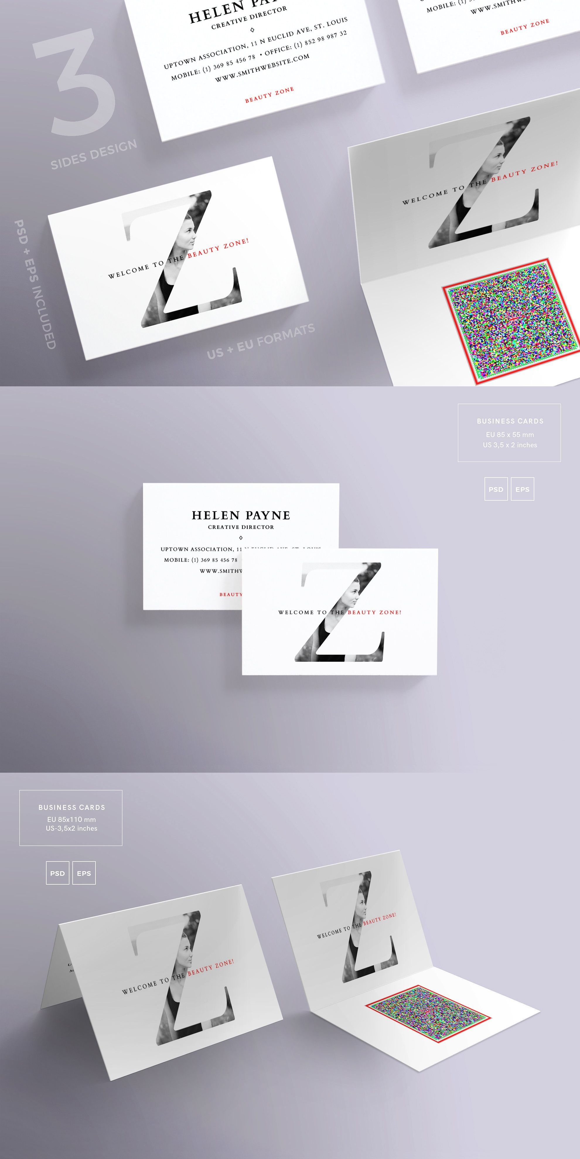 Business cards templates beauty zone psd eps pdf business business cards templates beauty zone psd eps pdf alramifo Gallery