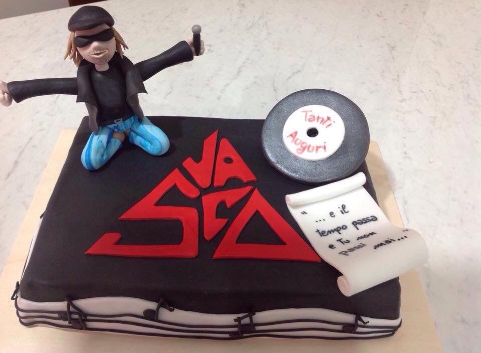 Torta Vasco Rossi · Cake DesignsCake