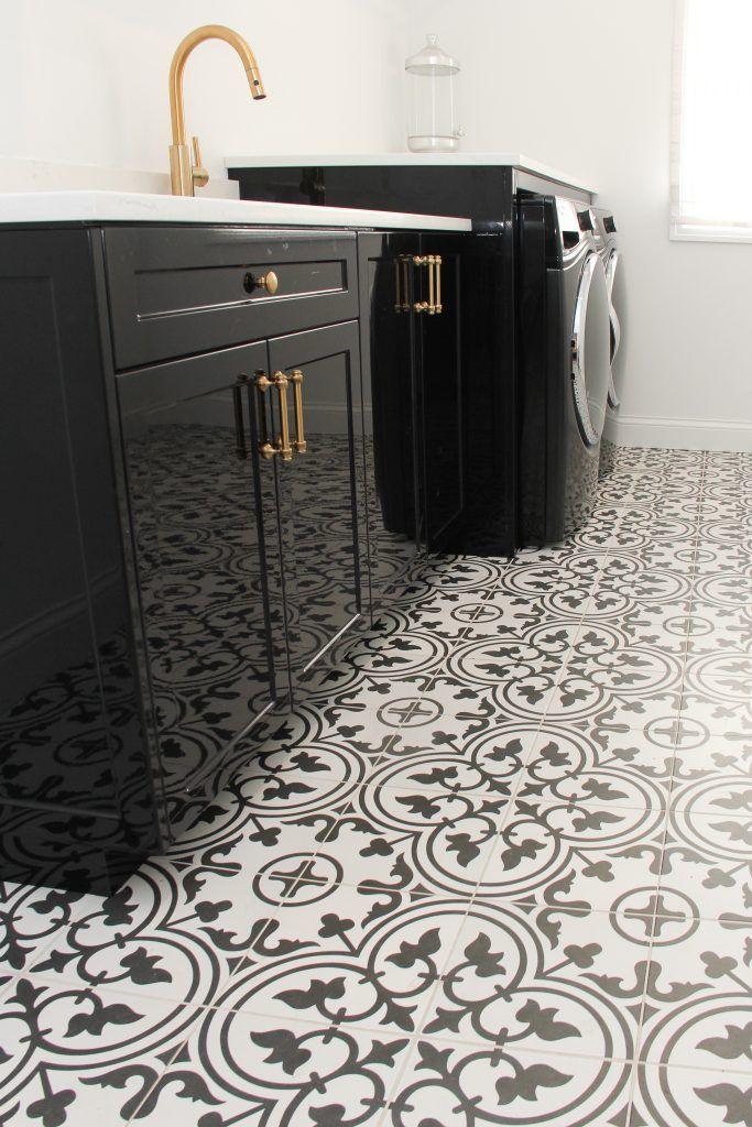 10x10 Laundry Room Layout: Flooring: Tile, 21st Century Tile, Arte, 10x10, White